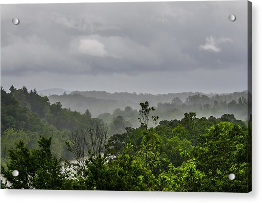 Acrylic Print featuring the photograph French Broad River by Carolyn Marshall