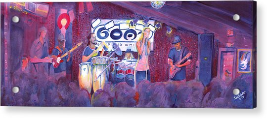 Funky Johnson At The Goat Acrylic Print