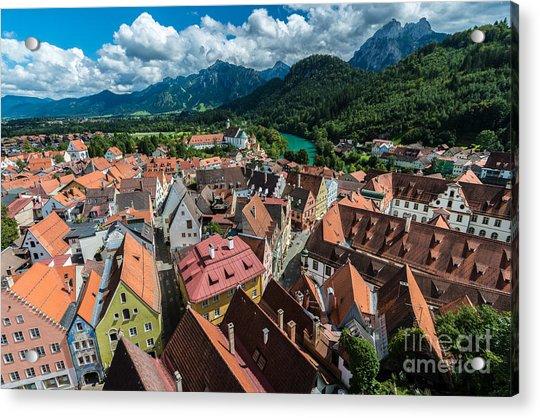 Fussen - Bavaria - Germany Acrylic Print