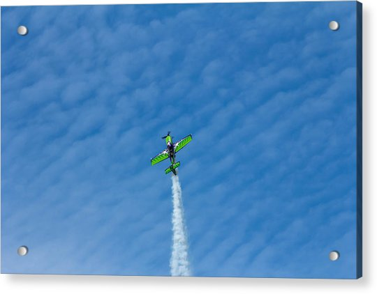 Gary Ward Taking His Mx2 To Great Heights Acrylic Print