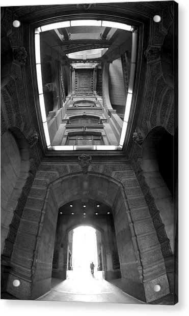 Gateway To A Forgotten Land Acrylic Print