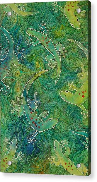 Gecko Magic Acrylic Print