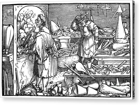 German Alchemist, 1537 Acrylic Print