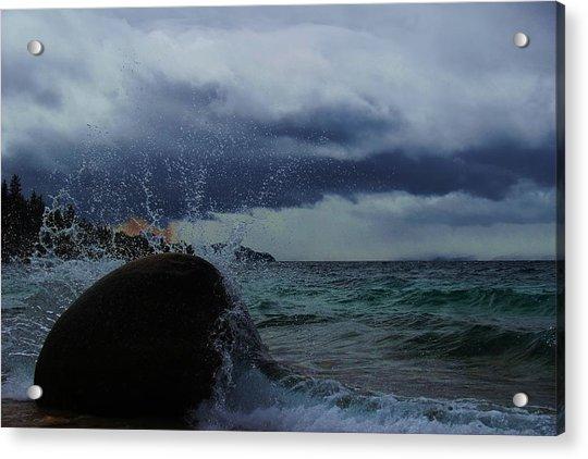 Get Splashed Acrylic Print