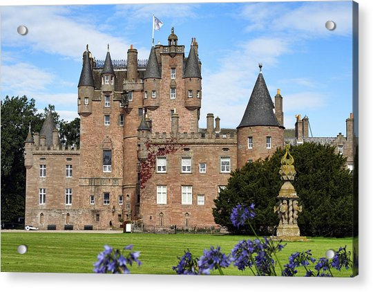 Acrylic Print featuring the photograph Glamis Castle by Jason Politte