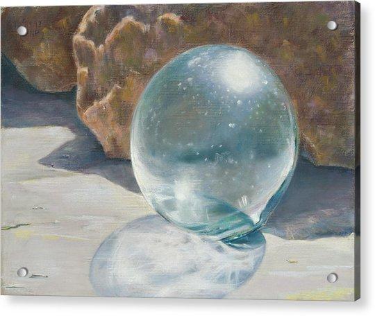 Glass Float Acrylic Print