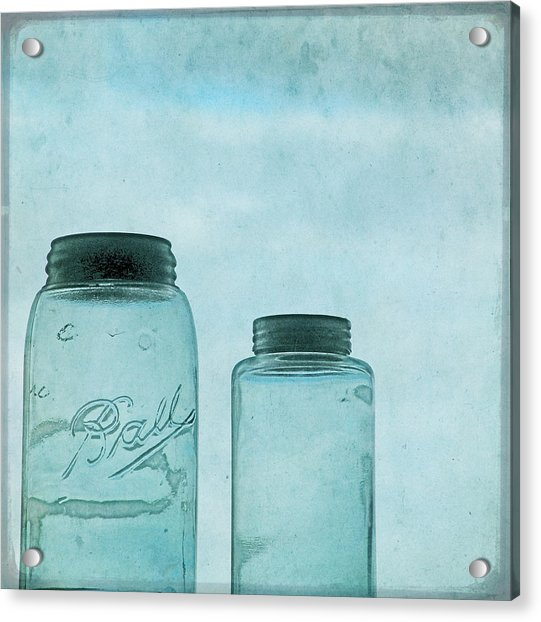 Acrylic Print featuring the photograph Glass Sky by Sally Banfill