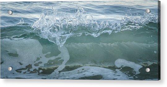Glass Wave Acrylic Print