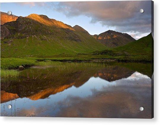 Glencoe Summer Reflections Acrylic Print