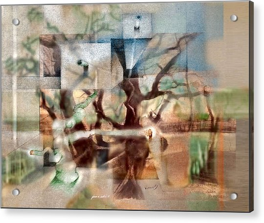 Glennvangoghscape 2014  Acrylic Print
