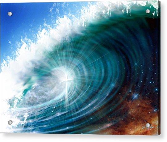 Glory Waves Acrylic Print
