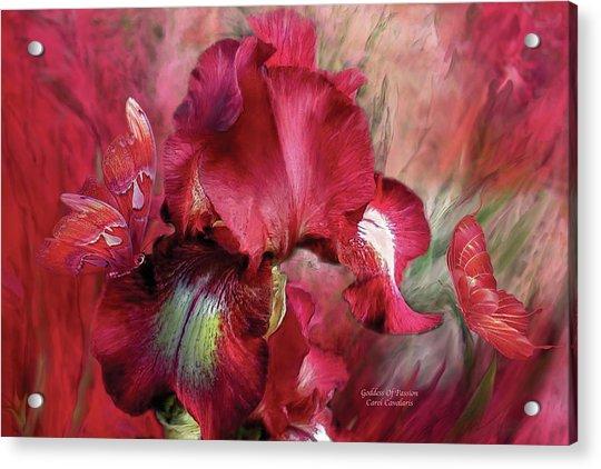 Goddess Of Passion Acrylic Print
