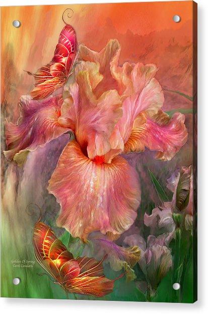 Goddess Of Spring Acrylic Print