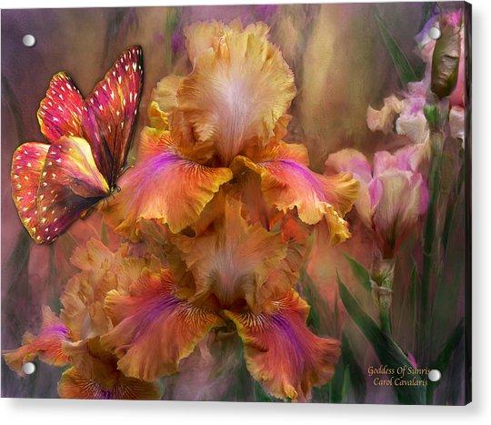 Goddess Of Sunrise Acrylic Print