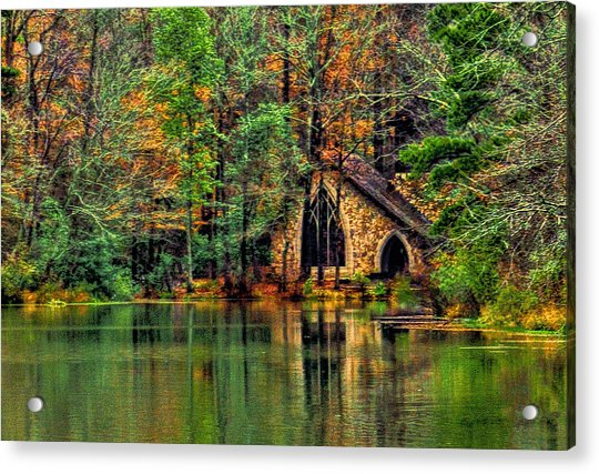 Going To The Chapel  Acrylic Print