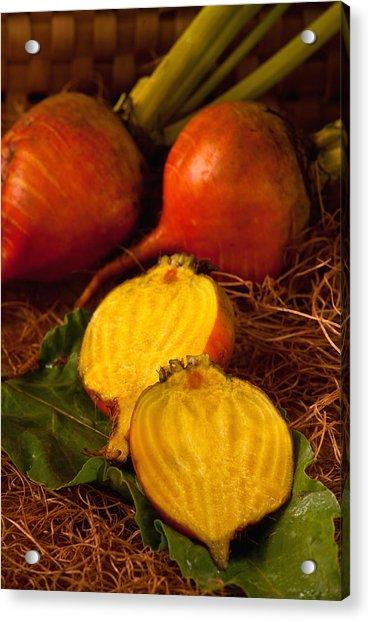 Golden Turnips Acrylic Print