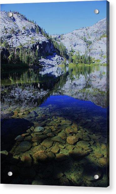 Good Morning Eagle Lake Acrylic Print