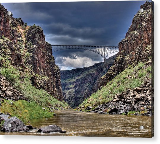 Gorge Bridge Acrylic Print