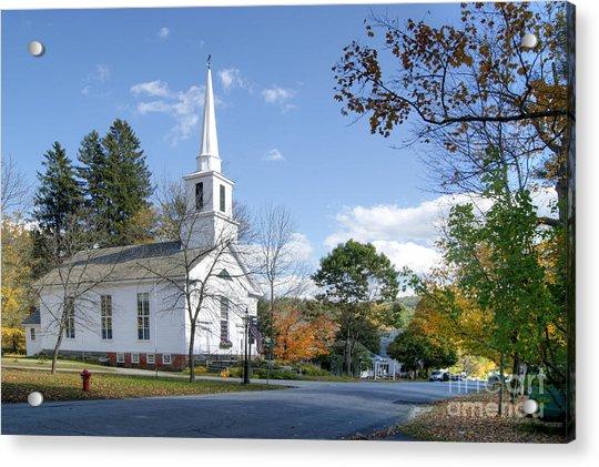 Grafton Church Acrylic Print