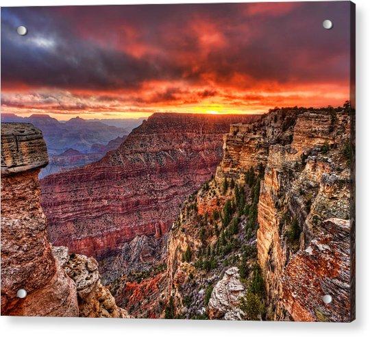 Grand Sunrise Acrylic Print