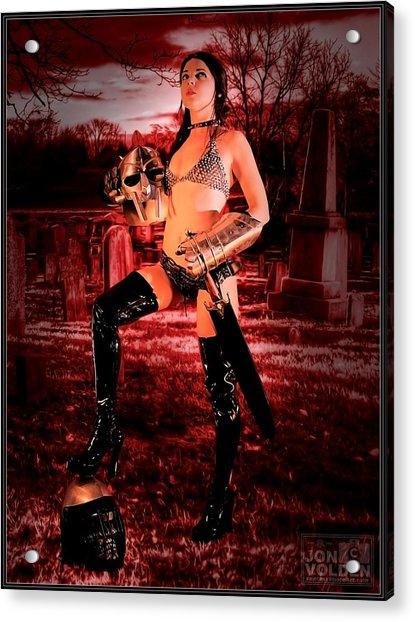 Grave Hunter Acrylic Print