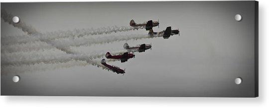 Greenwood Lake Airshow Northeast Raiders Acrylic Print