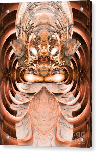 Greetings Inhabitants Of Earth Acrylic Print