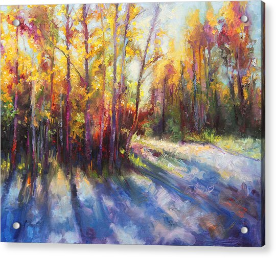 Acrylic Print featuring the painting Growth by Talya Johnson