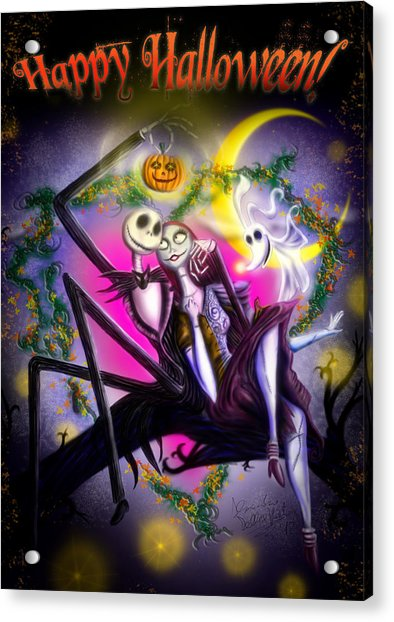 Happy Halloween II Acrylic Print