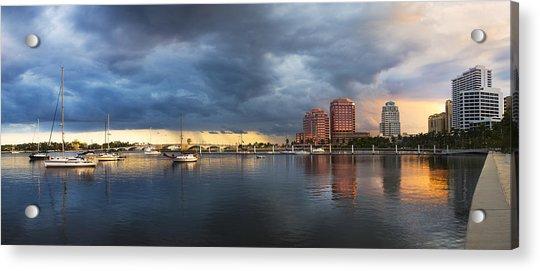 Harbor At West Palm Beach Acrylic Print