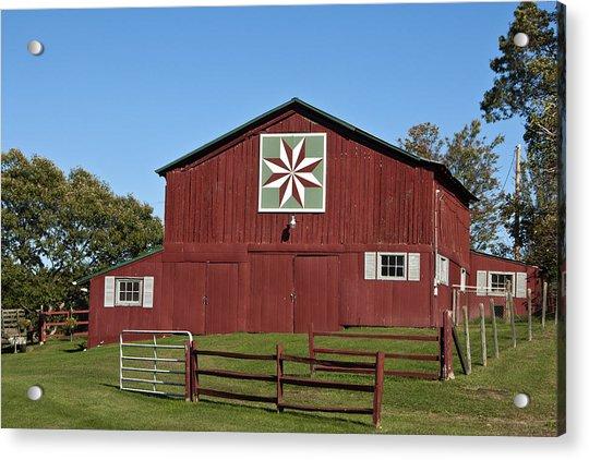 Harvest Barn Acrylic Print