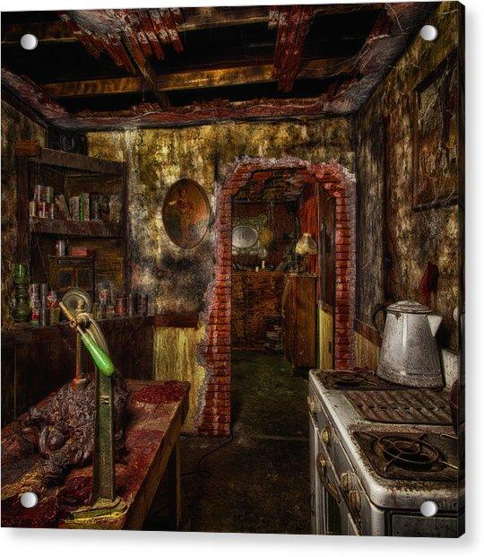 Haunted Kitchen Acrylic Print