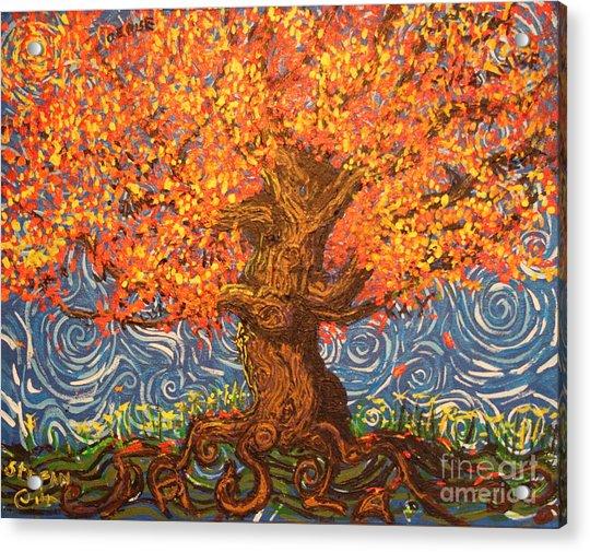 Healthy At Home Tree Acrylic Print
