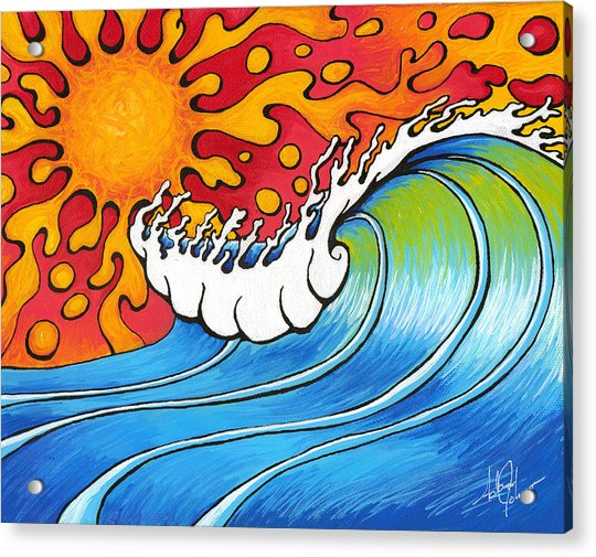 Heat Wave Acrylic Print