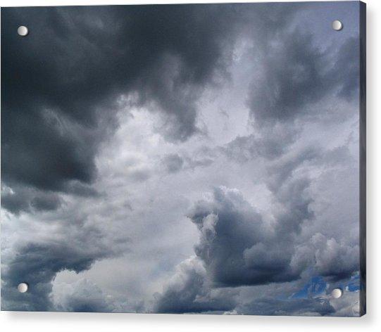 Heaven Looks Angry Acrylic Print