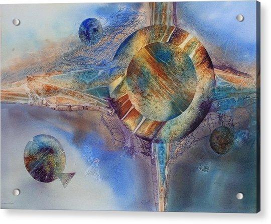 Heavens Gate Acrylic Print