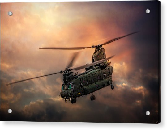 Acrylic Print featuring the photograph Heavy Metal by Chris Lord