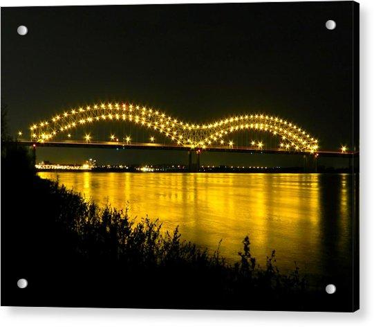 Hernando De Soto Bridge 002 Acrylic Print