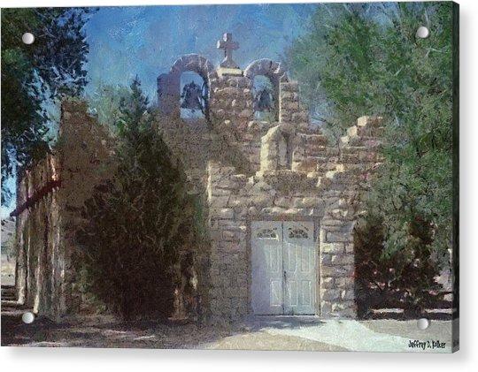 High Desert Church Acrylic Print