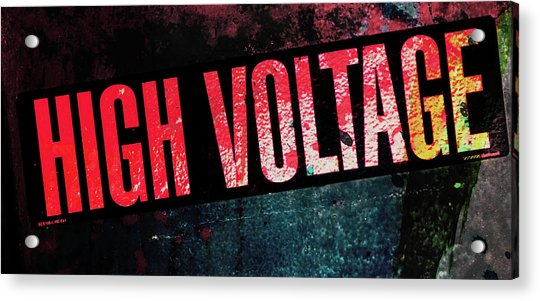 High Voltage - Mike Hope Acrylic Print