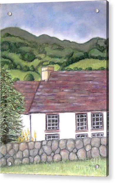 Highland Farmhouse Acrylic Print