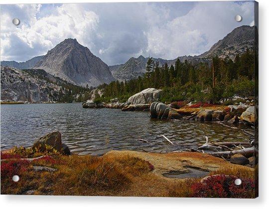 Hilton Creek Lakes By Frank Lee Hawkins Acrylic Print
