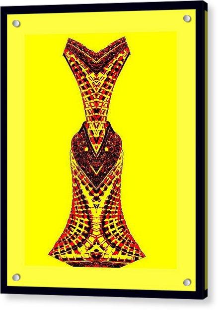 Hippy Dress Acrylic Print