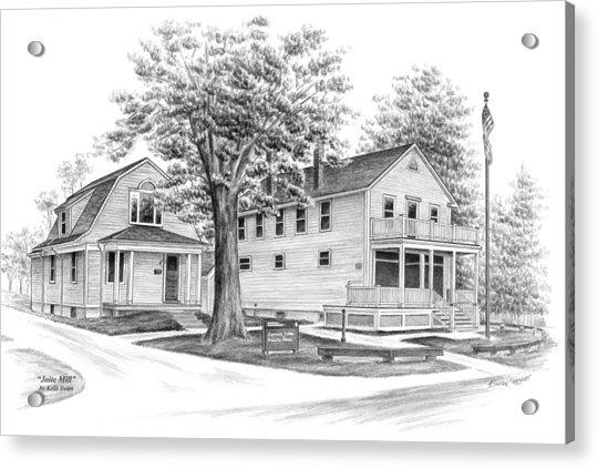 Historic Jaite Mill - Cuyahoga Valley National Park Acrylic Print