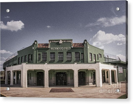 Historic Rickwood Field Acrylic Print