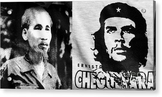 Ho Chi Minh And Che Guevara Acrylic Print