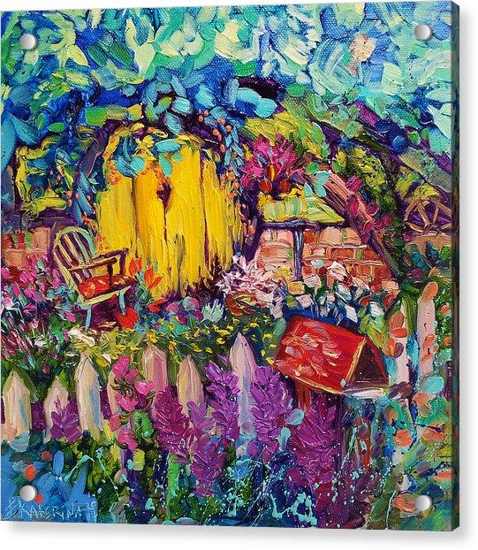 Hobbit House Oil Painting Acrylic Print