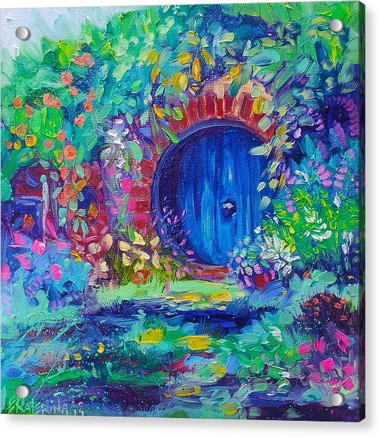 Hobbit House Shire Hobbiton Acrylic Print