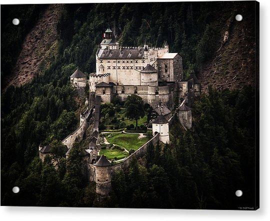 Hohenwerfen Castle Acrylic Print