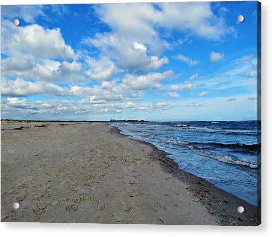Acrylic Print featuring the photograph Holden Beach Nc by Cynthia Guinn